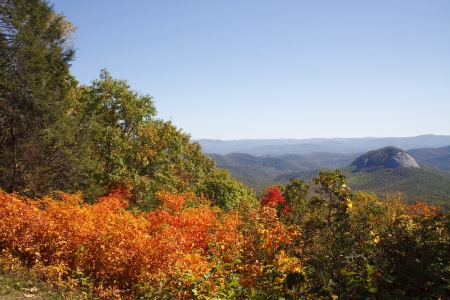 Looking Glass Rock in the NC Mountains photo