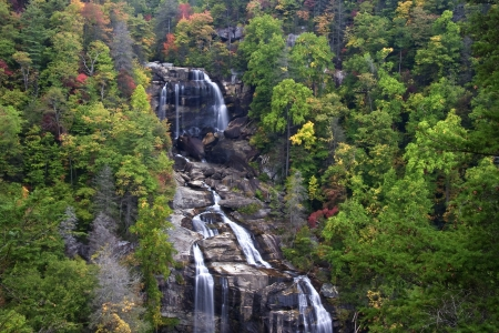 nc: Whitewater Falls in NC Stock Photo