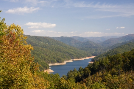 Fontana Lake Stock Photo - 17625686