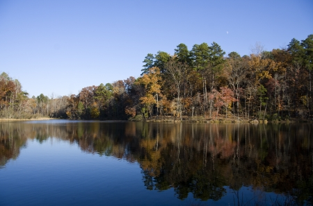 Lake Crawford at Kings Mountain State Park