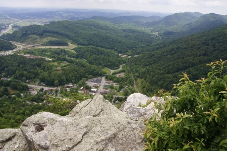Pinnacle Overlook at Cumberland Gap Imagens