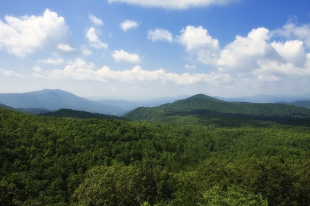 nc: NC Mountains in the Summer Stock Photo