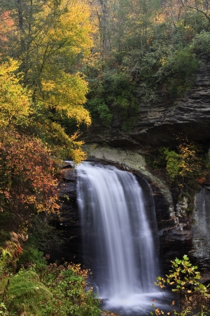 Looking Glass Falls in NC photo