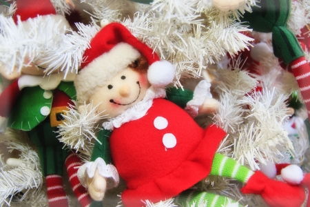 Elf Doll Ornament photo