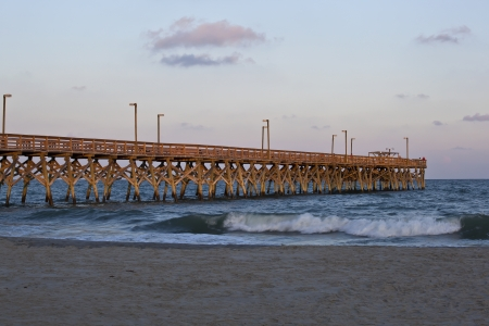 Surfside Pier in South Carolina Stock Photo - 18030783