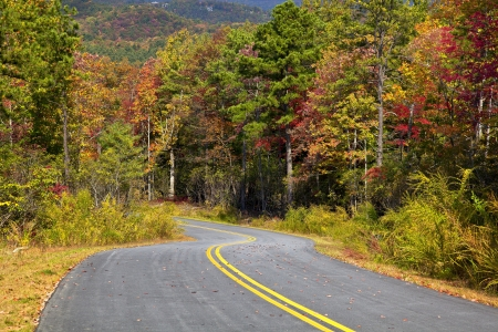 Gorges State Park Road