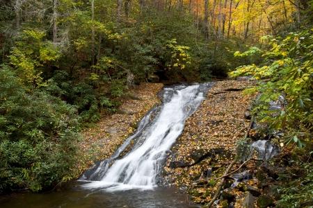 indian creek: Indian Creek Falls in North Carolina