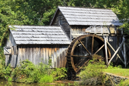 grist mill: Mabry Mill