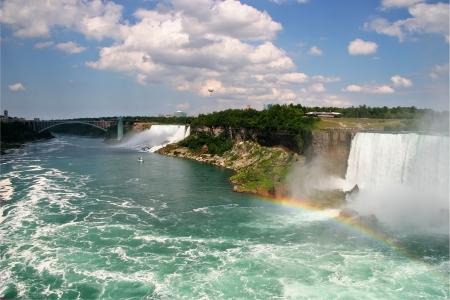 American and Canadian Niagara Falls photo