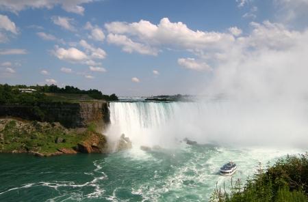 horseshoe falls: Niagara Falls Horseshoe Canadian Falls