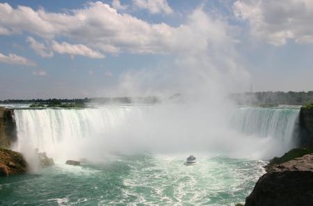 Niagara Falls Horseshoe Canadian Falls photo