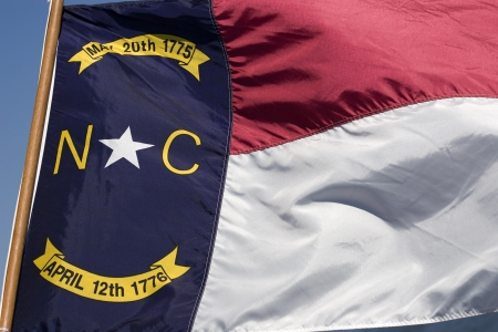 North Carolina State Flag photo