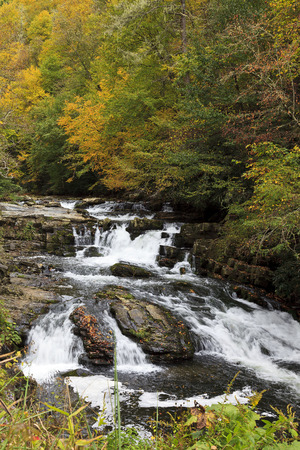 River in North Carolina in the Fall