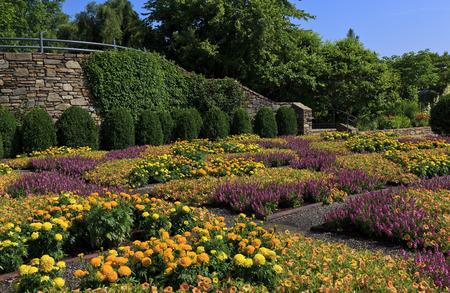 asheville: The Quilt Garden at the North Carolina Arboretum in Asheville