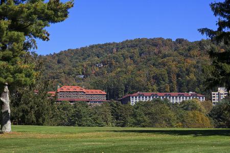 Grove Park Inn in Asheville North Carolina in the fall