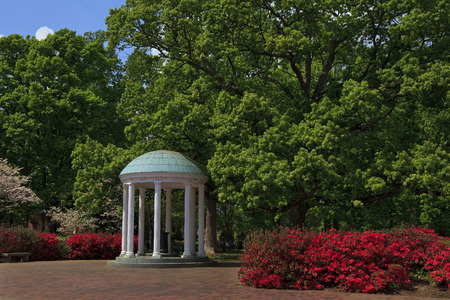 unc: The Old Well at Chapel Hill