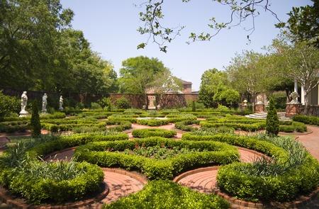 Tryon Palace Gardens à New Bern, Caroline du Nord