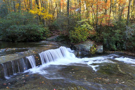 shinny: Shinny Creek at South Mountains State Park Stock Photo