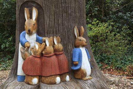 Bunny Rabbit Sculptures