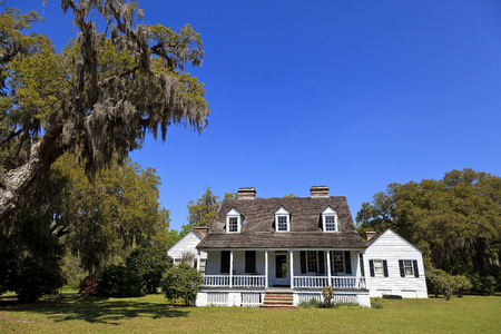 The Charles Pinckney House in Mount Pleasant South Carolina 新聞圖片