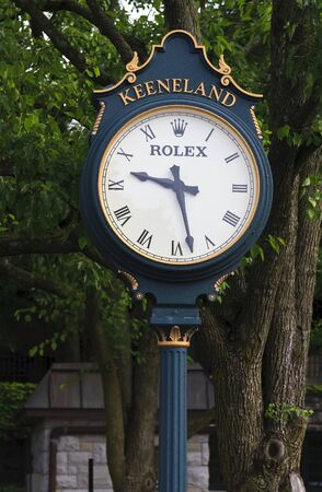 Keeneland Race Track Clock in Kentucky