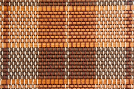 red and brown tone bamboo blinds pattern wallpaper photo