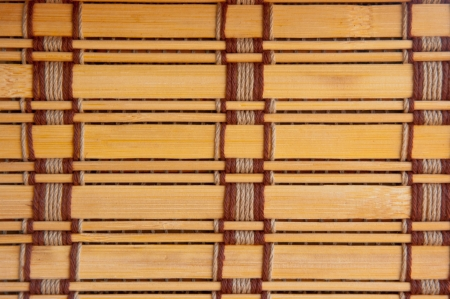 tile brown tone bamboo blinds pattern wallpaper photo