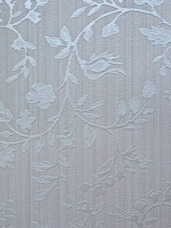 silver shade flower textile wall cover pattern photo