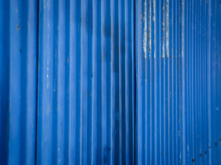old color galvanized iron wall cover pattern background photo