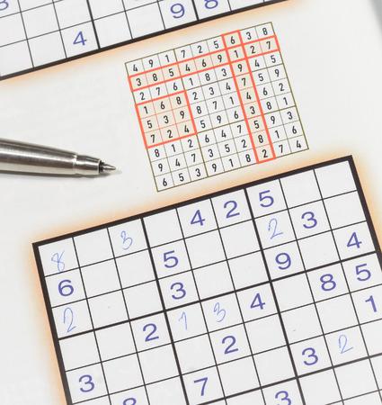 sudoku: education sudoku game with pen
