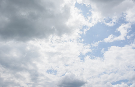 nimbi: lanscape clouds in the blue sky at daylight
