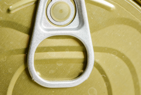 close up food: close up Canned Food pattern detail (old aluminium cans) Stock Photo