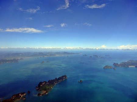 eye: Andaman ocean seaview, bird eye view.