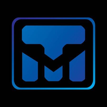 Logo TM concept for your company Vectores