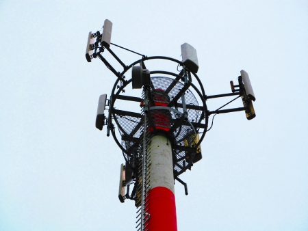 Transmitter television , internet , mobile phones photo