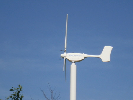 generate: Wind power, power plant to generate electricity