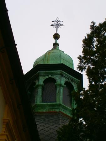Church in Trebic, Czech republic, Moravia