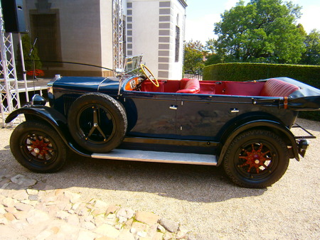 whose: The car, Which is an exact copy of the car in Which was the Assassination of Franz Joseph 1 and whose owner is the grandson of Count Harrach, who rode with him about the assassination Editorial