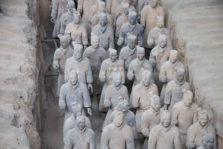 Terracotta Warriors Stock Photo - 14277563