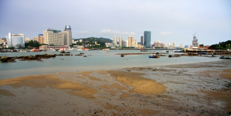 The seaside city at chinese xiamen photo