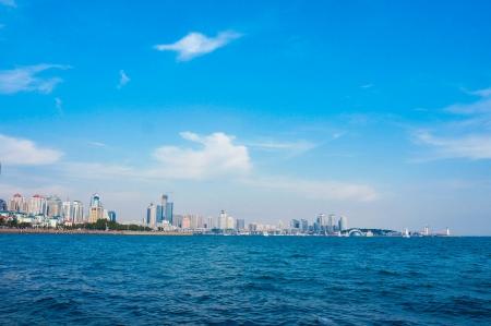 panama city beach: Citt� di mare di cinese di Qingdao