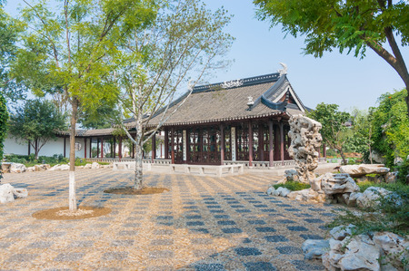chinese garden: chinese garden in china south