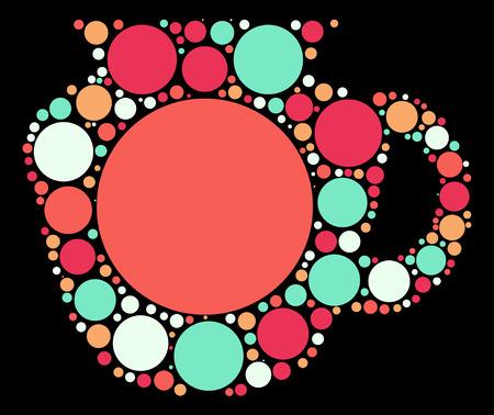 jug: Jug shape design by color point