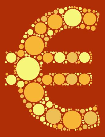 eur: EUR shape  design by color point