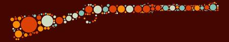 pegamento: gun shape design by color point
