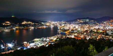 The night view of Kyushu and Nagasaki selected as the world's three largest night views and Japan's three largest night views
