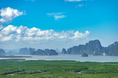 Samet Nangshe Landmark phang-nga,Thailand