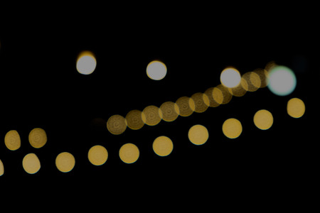 Abstract Bokeh night on background Stock Photo