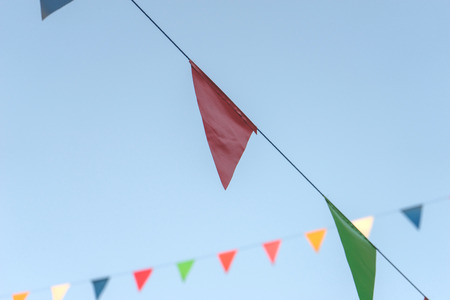 Colorful Flag,Concept Fastival
