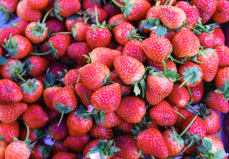 Strawberry in Thailand Market